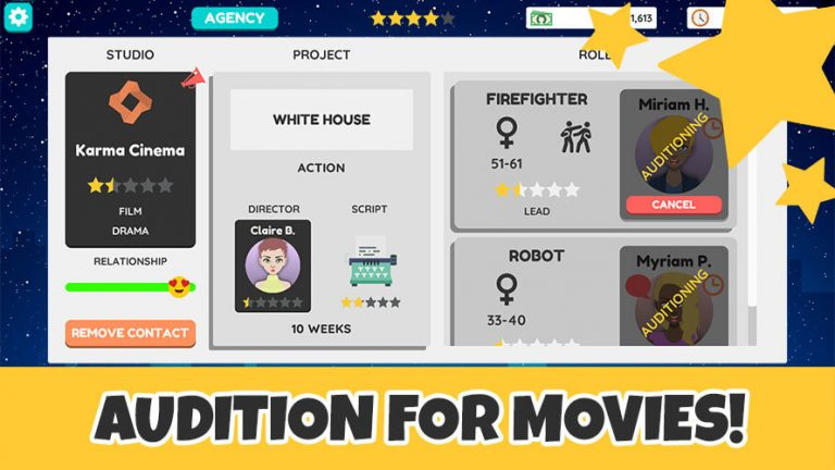actor tycoon send actors for auditions hollywood